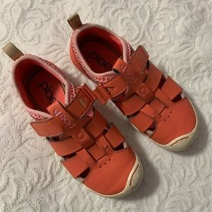 Salmon pink PLAE shoes- size 13